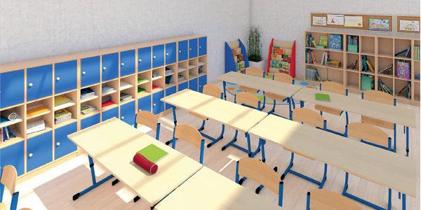 Obowiązkowe szafki na podręczniki dla uczniów