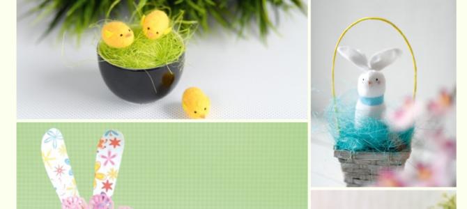 Wielkanoc- prace plastyczne i dekoracje w przedszkolu i szkole