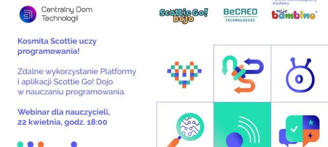 Scottie Go! DOJO – bezpłatne webinarium