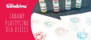 Zabawy plastyczne z farbami dla dzieci