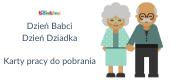 Dzień Babci i Dziadka – karty pracy