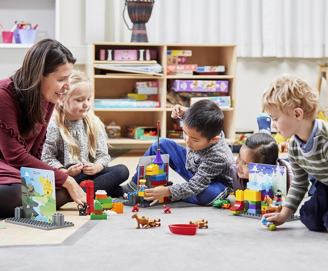 lego duplo story tales opowieści materiały dla nauczyciela scenariusze zabaw do przedszkola