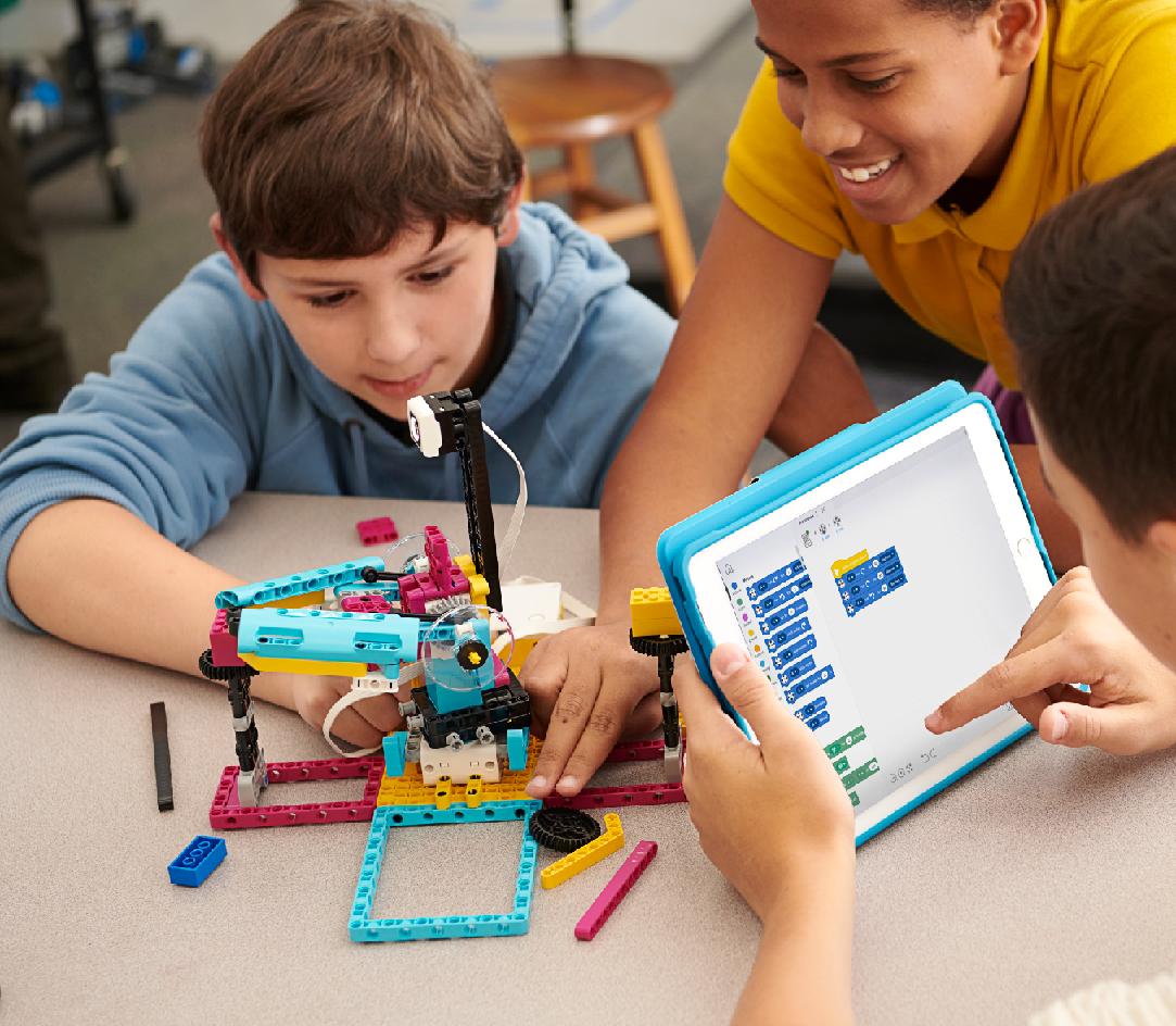 lego education dla szkoły podstawowej intuicyjna aplikacja